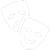 Atlanta Acting Mask Icon